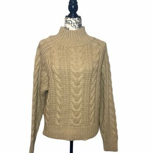 NWT A New Day Cable Knit Style Turtleneck Sweater